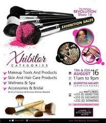 the makeup revolution show 2016 set for