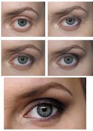 how to makeup for protruding eyes
