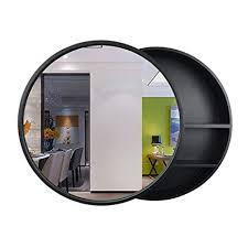 round bathroom mirror medicine cabinet