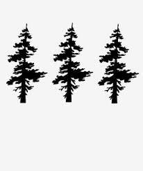 Vinyl Wall Art Decal Sticker Single Pine Tree 851 Custom 3ft Tall Set Of 3 Ebay