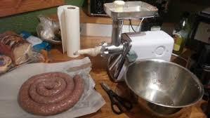 homemade kielbasa fresh polish sausage
