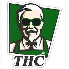 Colonel Sanders Weed Thc Custom Vinyl Decal Sticker Ebay