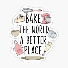Baking Stickers Redbubble
