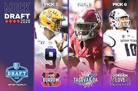 NFL Mock Draft 2020 v4.0 - Detroit ...