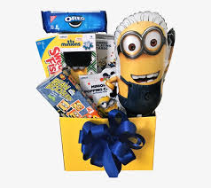 deable me minion gift basket jelly