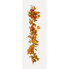 Lighted Fall Leaf Garland Wayfair