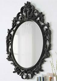 black mirror ornate baroque style ikea