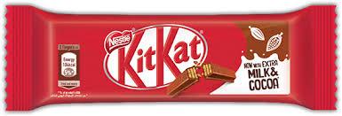 kitkat two finger chocolate bar