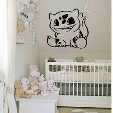 Wall Decal Sticker Bedroom Anime Pokemon Cartoon Movie Nursery Boy Girl Bo2686 Ebay
