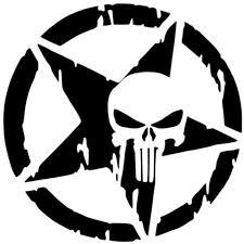 13x13cm The Punisher Skull Waterproof Reflective Material Car Sticker Pentagram Vinyl Decals Motorcycle Accessories Black White Punisher Skull Vinyl Decaldecals Motorcycle Aliexpress