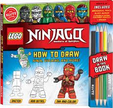 Amazon.com: KLUTZ LEGO NINJAGO How To Draw Ninja, Villains, And ...