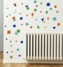 Splatter And Splotches Wall Art Vinyl Stickers Easy Room Decor 13pc