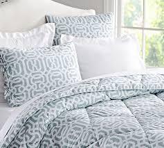 terri trellis comforter shams blue