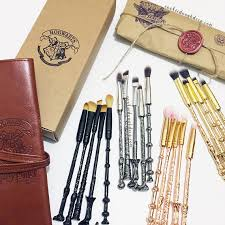 these harry potter makeup brushes are