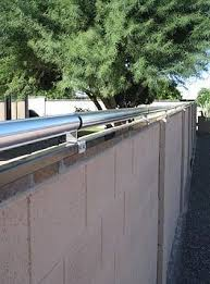 Coyote In Yard Predator Jump Proof Fencing Coyote Rollers Keep Coyotes Out Stop Coyote Attacks Phx Az Coyote Rollers Dog Enclosures Backyard Safety