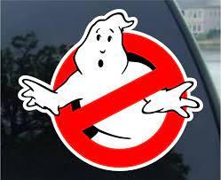 Amazon Com Ghostbusters Car Bumper Sticker Decal 4 X 4 Automotive