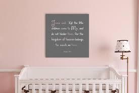 Matthew 19 14 Kid S Christian Canvas Decor Honeycomb Proverbs