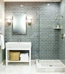 best glass tile ideas on subway grey