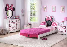Minnie Mouse Wooden Twin Bedroom Collection Minnie Mouse Bedroom Decor Bedroom Themes Pink Kids Bedrooms