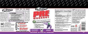 extreme edge pre workout powder g