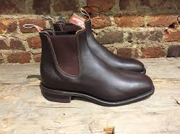 r m williams chelsea boots