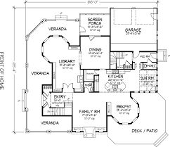 house plan 57563 victorian style with