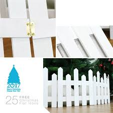 Christmas Tree Decoration 1 2 M Wooden Fence Christmas Scene Layout Window Props Walmart Canada