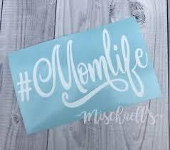 Mom Life Car Decal Vinyl Sticker Yeti Cup Decal Busy Mom Sticker M1013 Ebay