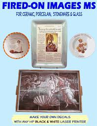 Ceramic Transfer Paper Transfer Images Onto Ceramics