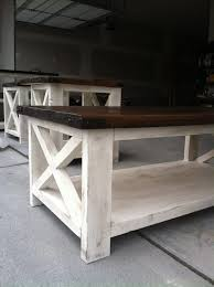simple anna white coffee table rustic