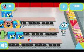 Hướng dẫn chơi game Gumball: Phục vụ căng tin - video dailymotion