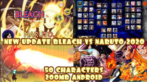 NEW UPDATE! Bleach VS Naruto 3.3 Modded MUGEN ANDROID {200MB DOWNLOAD} in  2020 | Naruto mugen, Naruto games, Naruto