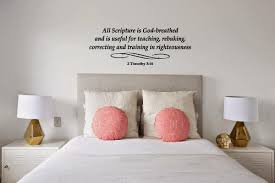2 Timothy 3 16 Wall Decal Religious Decals Stickers Whimsi Decals Whimsidecals