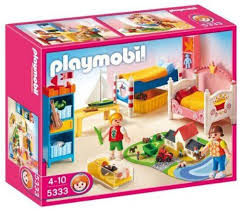 Playmobil 5333 Children S Bedroom The Dollhouse Series Boy Girl Bedroom Girl Room Playmobil