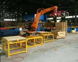 robot pallet nailing machine