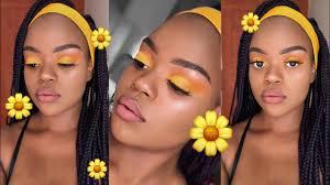 summer makeup tutorial for black skin