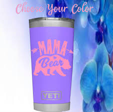 Mama Bear Monogram Vinyl Decal For Your Tumbler Cup Arrow Decal Bear Decal Home Garden Decor Decals Stickers Vinyl Art