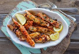Smoky Spicy BBQ King Crab