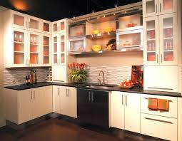glass for kitchen cabinets designs