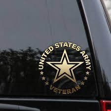 Army Decal Sticker Veteran Retired Military Car Truck Window Wall Laptop Veteran Car Us Army Us Army Corps Of Engineers