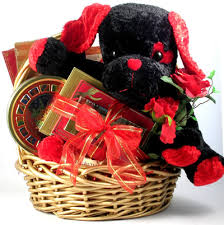 my funny valentine deluxe gift basket