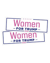 Women For Trump Bumper Sticker Set Of 2 Trump Make America Great Again Committee