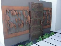 sun moon outdoor metal wall art decor