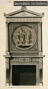 Headfort House Eating Parlor, Chimney Piece by Robert Adam | Architectural  prints, Interior decor themes, Elegant mantel