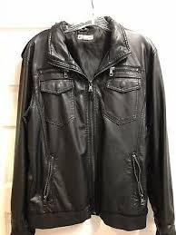 mens er retro flight faux leather