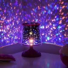 Starry Star Lamp Colourful Projection Light Mood Night Lights Childrens Room Ebay