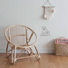 Nordic Home Furniture 100 Handmade Kids Chair For Living Room Children S House Decoration Rattan Weaving Chair Countryside Children Chairs Aliexpress