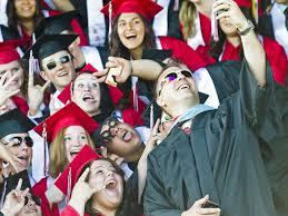 R.A. Long seniors enjoy 'picture-perfect' graduation ceremony ...
