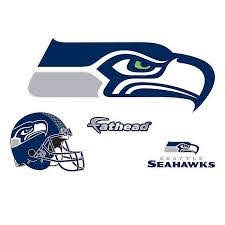 Fathead Nfl Seattle Seahawks Logo Large Wall Decal Bed Bath Beyond