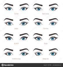 eye makeup types eyeliner shape